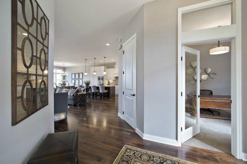 Foyer Area Traduccion : Bellante luxury townhomes in lakeville mn